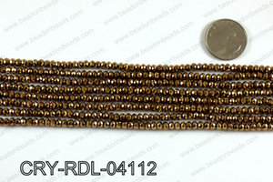 Angelic Crystals Rondels 4mm CRY-RDL-04112