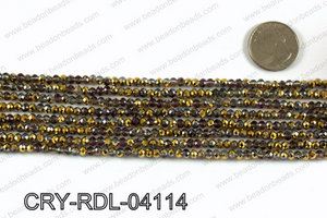 Angelic Crystals Rondels 4mm CRY-RDL-04114
