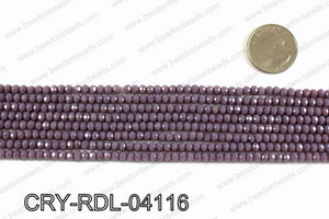 Angelic Crystals Rondels 4mm CRY-RDL-04116