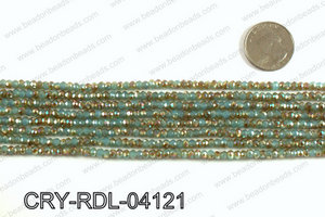 Angelic Crystals Rondels 4mm CRY-RDL-04121