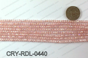 Angelic Crystals Rondels 4mm CRY-RDL-0440