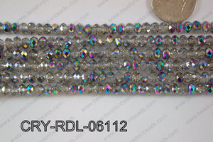 Crystal Rondel 6mm CRY-RDL-06112