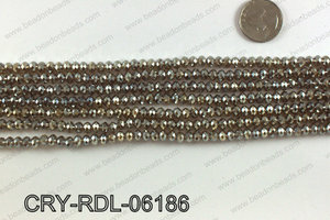 Angelic crystal rondels 6mm CRY-RDL-06186