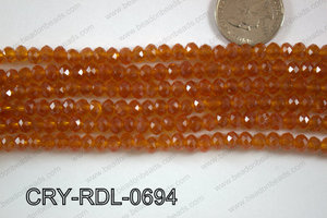 Crystal Rondel 6mm CRY-RDL-0694