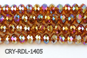Angelic Crystal Faceted Rondel 14mm CRY-RDL-1405
