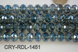 Angelic Crystal Faceted Rondel 14mm CRY-RDL-1451