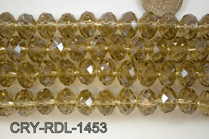 Angelic Crystal Faceted Rondel 14mm  CRY-RDL-1453