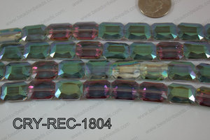 Angelic Crystal Rectangle Faceted 13x18mm CRY-REC-1804