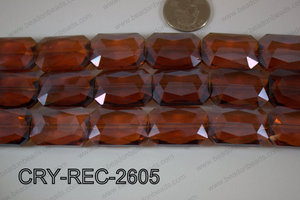 Angelic Crystal Rectangle Faceted 18x26mm CRY-REC-2605