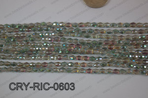 Angelic Crystals Rice 6mm CRY-RIC-0603