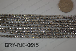 Angelic Crystals Rice 6mm CRY-RIC-0615