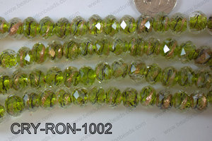 Lampwork Rondel 12mm CRY-RON-1002