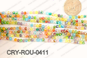Angelic Crystal Round 4mm CRY-ROU-0411