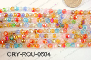 Angelic Crystal Round 6mm CRY-ROU-0604