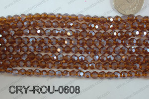 Angelic Crystal Round 6mm CRY-ROU-0608