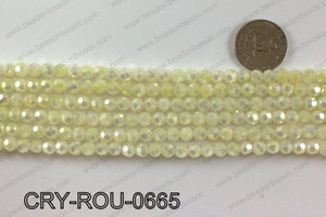 Angelic crystal round 6mmCRY-ROU-0665