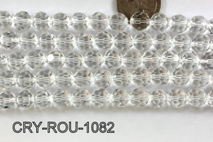 Angelic Crystal Faceted Round 10mm 32Cut Clear  CRY-ROU-1082