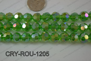 Angelic Crystal Round Faceted 32cut 12mm CRY-ROU-1205