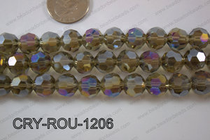 Angelic Crystal Round Faceted 32cut 12mm CRY-ROU-1206