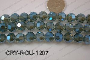 Angelic Crystal Round Faceted 32cut 12mm CRY-ROU-1207