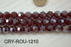 Angelic Crystal Round Faceted 32cut 12mm CRY-ROU-1210