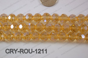 Angelic Crystal Round Faceted 32cut 12mm CRY-ROU-1211