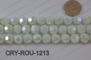 Angelic Crystal Round Faceted 32cut 12mm CRY-ROU-1213