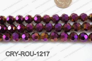 Angelic Crystal Round Faceted 32cut 12mm CRY-ROU-1217