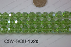 Angelic Crystal Round Faceted 32cut 12mm CRY-ROU-1220