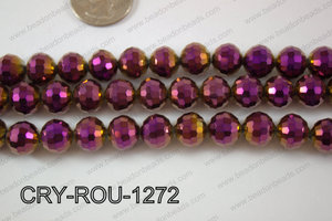 Angelic Crystal Round Faceted 96cut 12mm CRY-ROU-1272