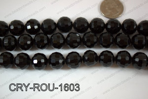 Angelic Crystal Round Faceted 15mm CRY-ROU-1603
