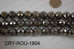 Angelic Crystal Round Faceted 15mm CRY-ROU-1604