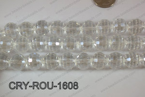 Angelic Crystal Round Faceted 15mm CRY-ROU-1608