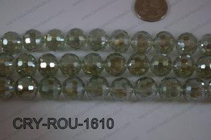 Angelic Crystal Round Faceted 15mm CRY-ROU-1610