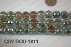 Angelic Crystal Round Faceted 15mm CRY-ROU-1611