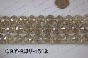 Angelic Crystal Round Faceted 15mm CRY-ROU-1612