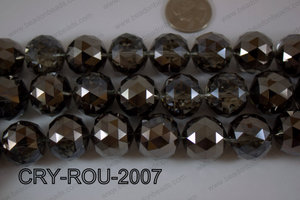 Angelic Crystal Round Faceted 20mm CRY-ROU-2007