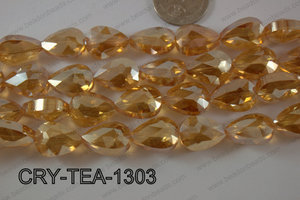 Angelic Crystal Teardrop Flat 13x18mm CRY-TEA-1303