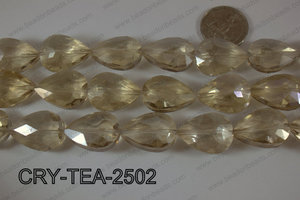 Angelic Crystal Teardrop Faceted 18x25mm CRY-TEA-2502