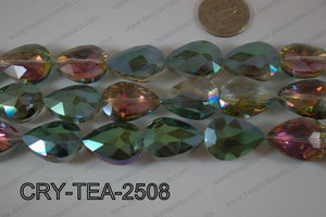 Angelic Crystal Teardrop Faceted 18x25mm CRY-TEA-2508