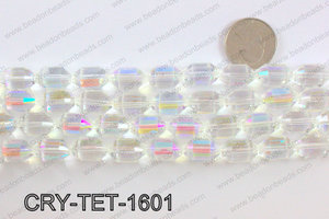 Tetragonal shaped crystal 10x16mmCRY-TET-1601