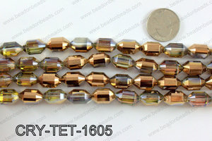 Tetragonal shaped crystal 10x16mmCRY-TET-1605