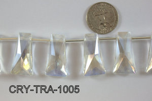 Angelic Crystal Trapezoid 10-16 x 30mm CRY-TRA-1005