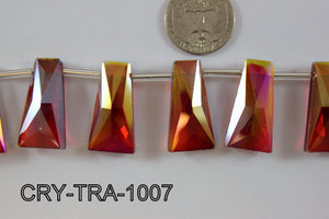 Angelic Crystal Trapezoid 10-16 x 30mm CRY-TRA-1007