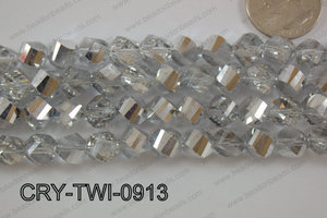 Angelic Crystal Twisted 9mm CRY-TWI-0913