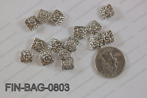 Finding Bead 400g Bag 8x8mm FIN-BAG-0803