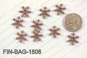 Finding Bead 250g Bag 15x15mm FIN-BAG-1506
