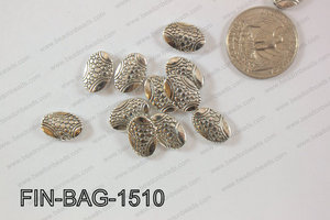 Finding Bead Oval 10x15mm FIN-BAG-1510