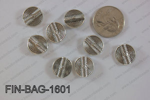 Finding Bead 500g Bag 16x16mm FIN-BAG-1601