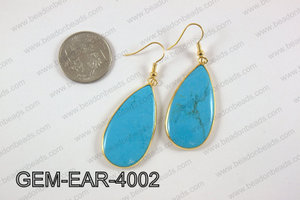 tear drop earring GEM-EAR-4002